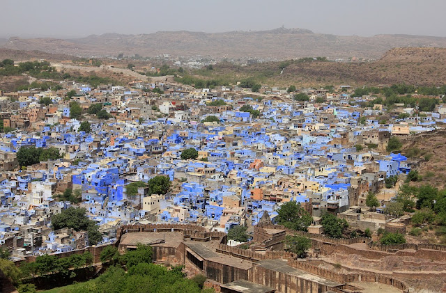 Jodhpur, India, blue city