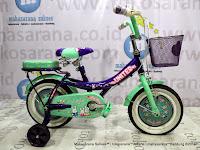 Sepeda Anak United My Music 12 Inci - Purple Green