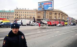 Blasts in St. Petersburg metro stations kill 10, injure at least 50