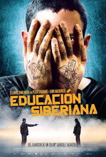 Cartel: Educación siberiana (2013)