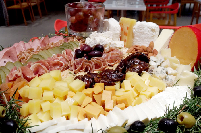 The shapes and colors of the holidays at Park Inn Davao - RBG Charcuterie