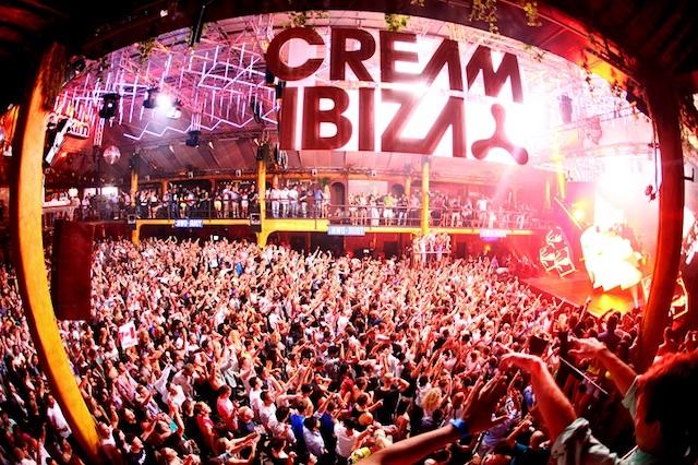 Festa Cream em Ibiza
