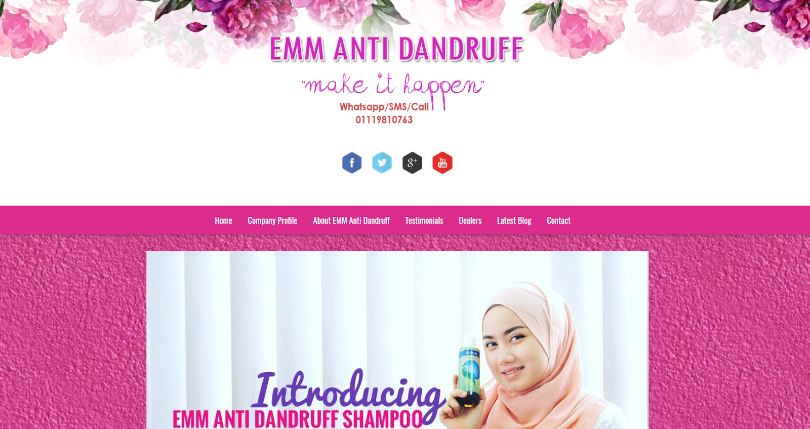 EMM Anti Dandruff Business Blog