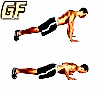 Latihan tricep push up