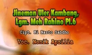 Lirik Lagu Meh Rahino