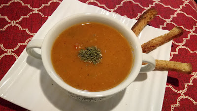 Simple Soup Recipe Carrot Tomato soup