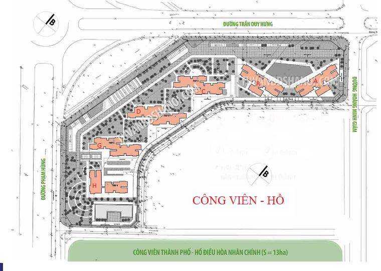 Ý tưởng xây dựng dự án Vinhomes D'Capitale Trần Duy Hưng