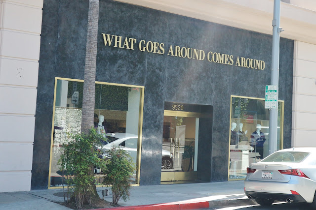 What Goes Around Comes Around store Beverly Hills