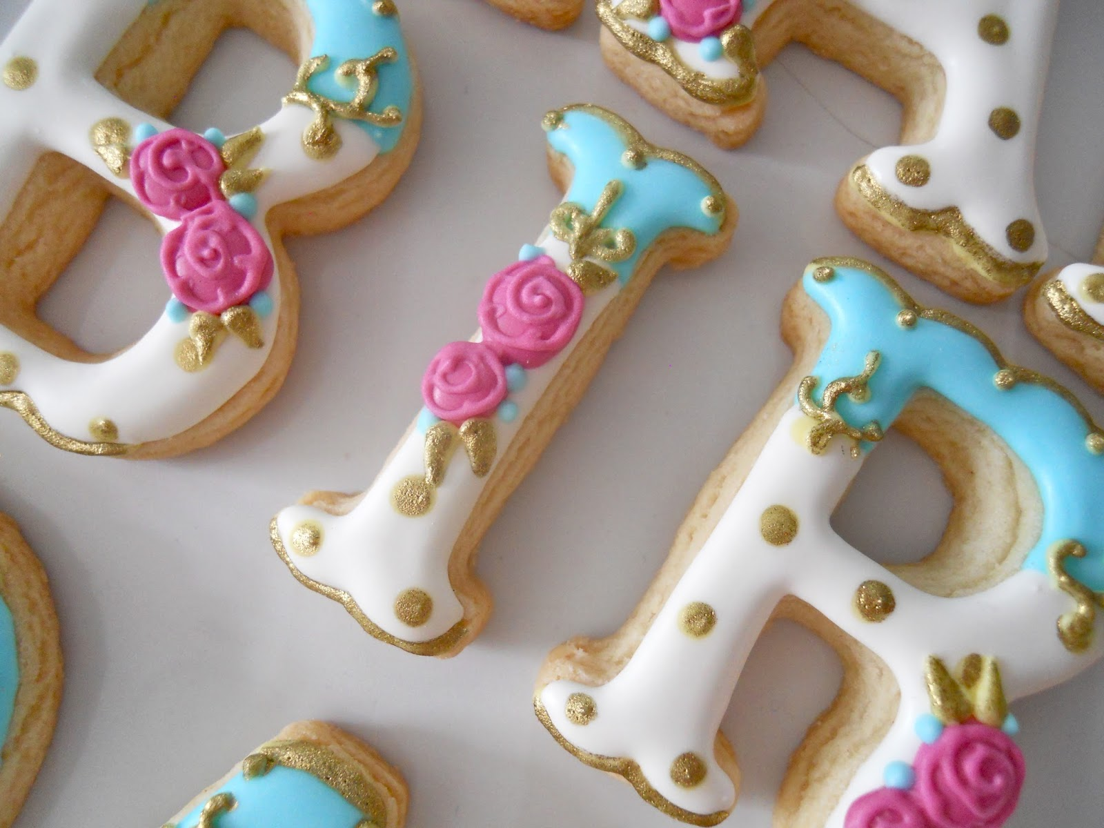 Sugar Letters For Cake Decorating