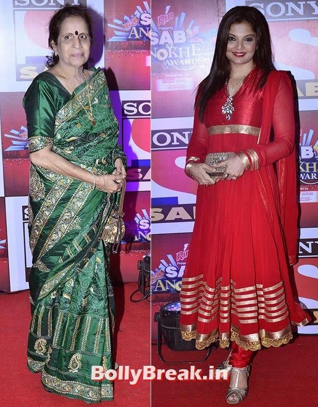 Usha Nadkarni and Deepshikha, SAB Ke Anokhe Awards Photo Gallery