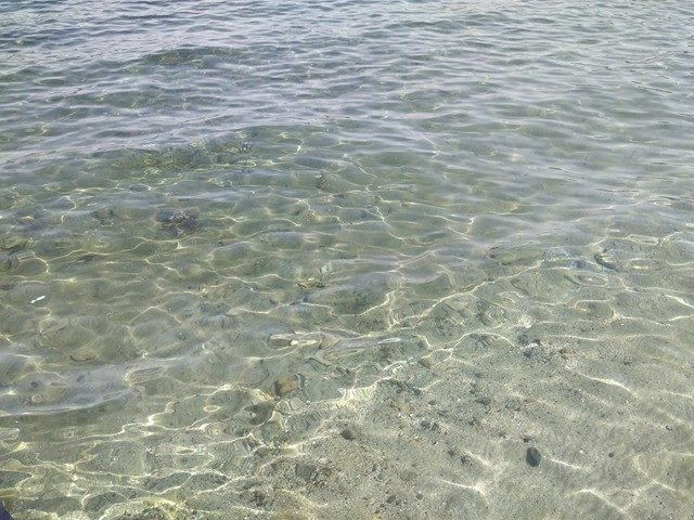 пляж с голубым флагом. Мармарис