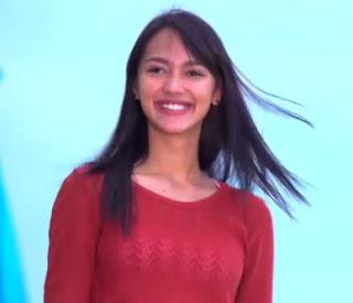 Melayu Nicole sebagai pemeran Cinta