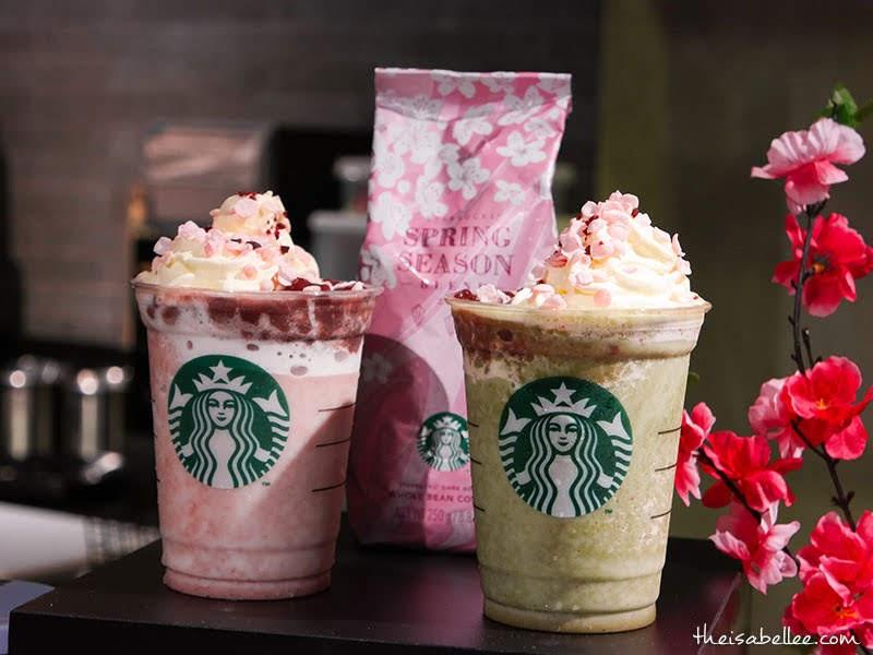 New Starbucks Malaysia Spring Sakura Beverages