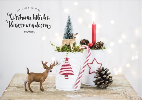 Gratis eBook: DIY Weihnachten Spakling Christmas mit Bastel-Ideen und Rezepten  | titatoni