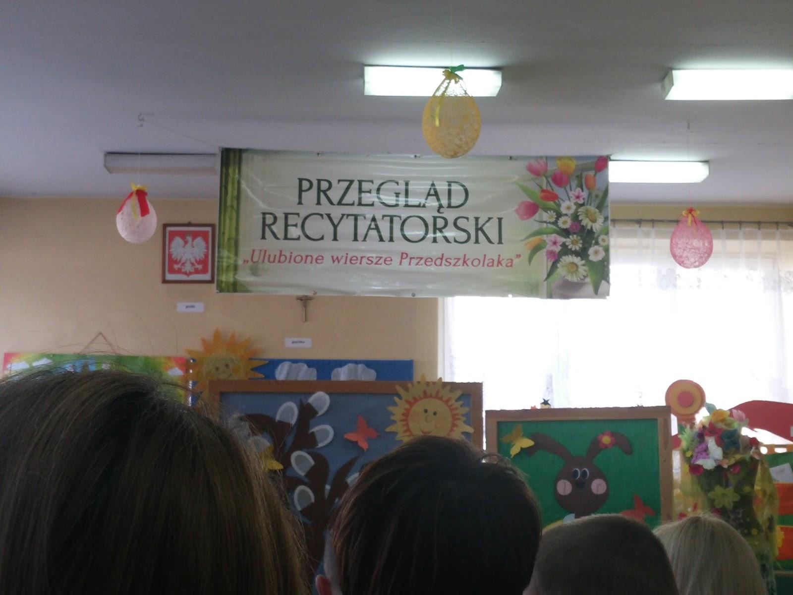 Przedszkole W Jedynce Wyróżnienie Dla Szymka W Konkursie