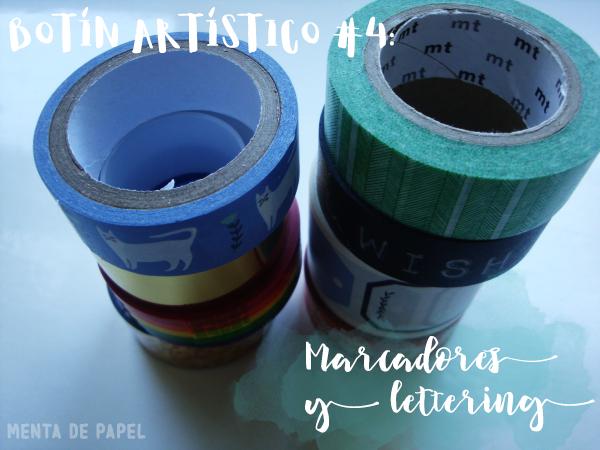 Botín Artístico 4: Para marcadores y lettering