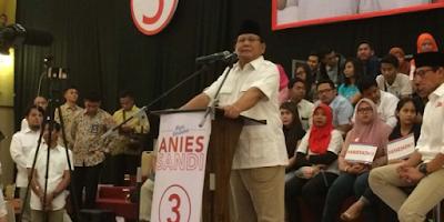 Prabowo: Yang Sumbang Sembako Terima Kasih, Kalau Bisa Jangan Berhenti