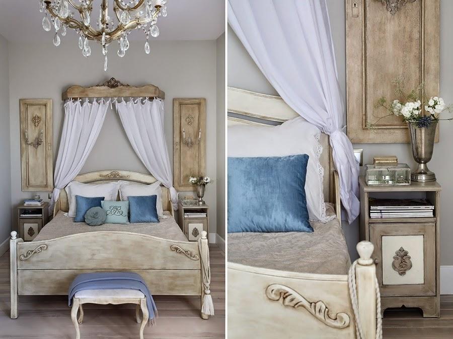 Szarość we francuskim stylu, wystrój wnętrz, wnętrza, urządzanie domu, dekoracje wnętrz, aranżacja wnętrz, inspiracje wnętrz,interior design , dom i wnętrze, aranżacja mieszkania, modne wnętrza, styl francuski, styl rustykalny, glamour, szarości, kolor szary, szare wnętrza, eleganckie wnętrza, beżowe wnętrza, sypialnia