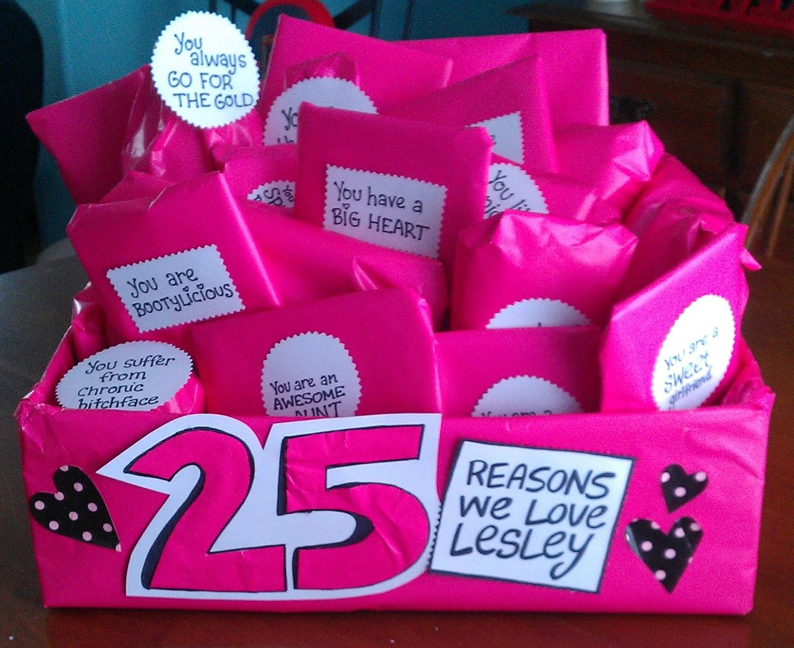 Laptops to Lullabies: Fun gift idea: 25 reasons we love you