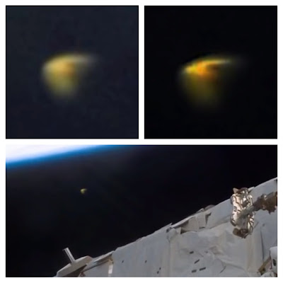 UFO SIGHTINGS DAILY: UFO Spotted Above Astronaut During ...