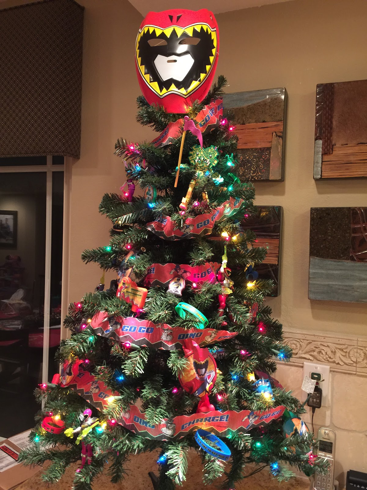 Power Rangers Christmas Tree.How To Celebrate A Christmas Baby