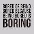 Žašto nikada ne smeš dozvoliti da ti bude dosadno? #20DaysOfBoomy