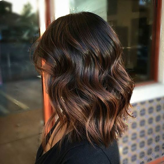 Top 15 Chocolate Brown Hair With Highlights Hair Fashion Online