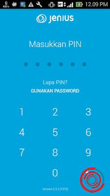 Pertama untuk melihat no rekening Jenius atau untuk mengetahui no rekening Jenius kalian buka aplikasi Jenius dan masukan pin aplikasinya
