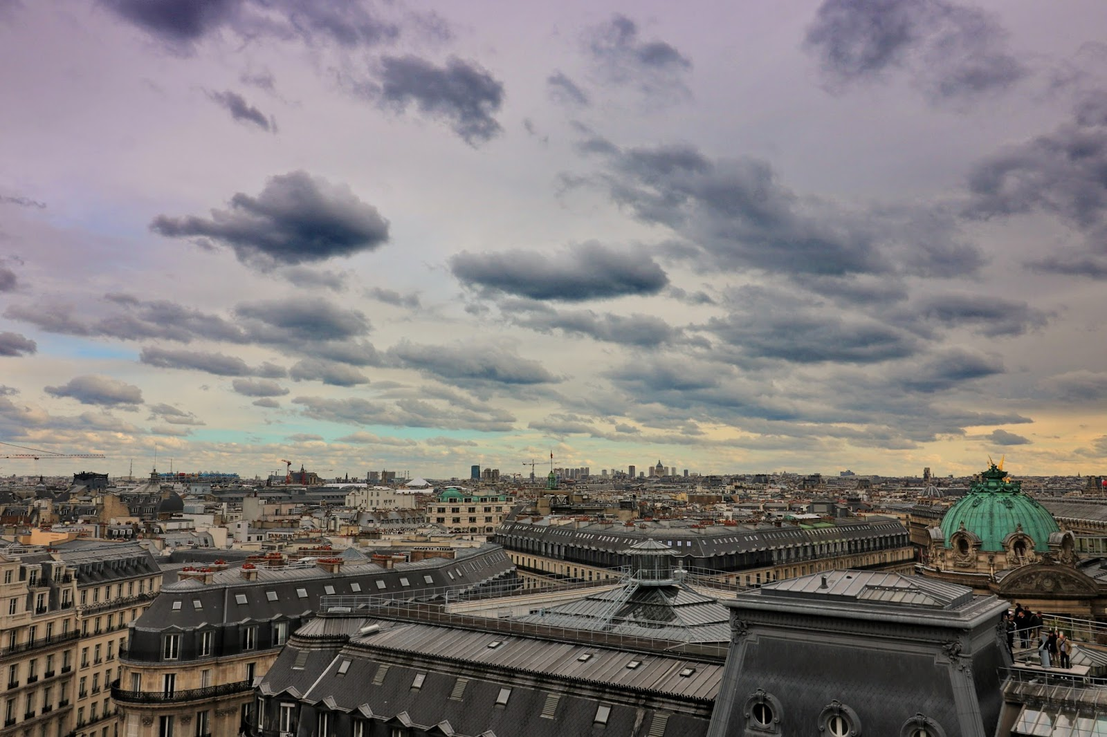 paryż widok