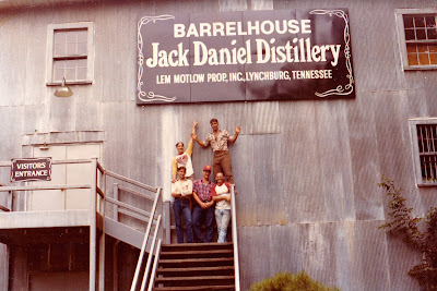Tommy Mondello at Jack Daniel's Distillery in Tennessee