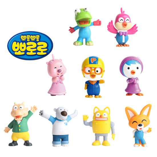 Pororo Friends Real Action Figure Eddie Collection Figurine Free Shipping