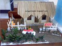 Membuat Miniatur Rumah