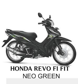 Sepeda Motor Revo FI 2