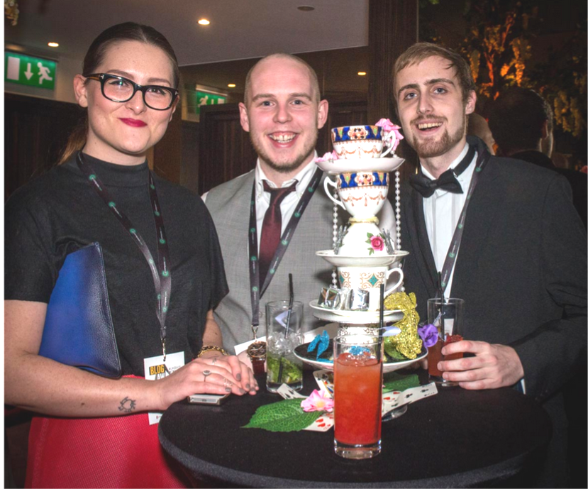 Tom Metcalf and Peachy PR at UK Blog Awards 2015