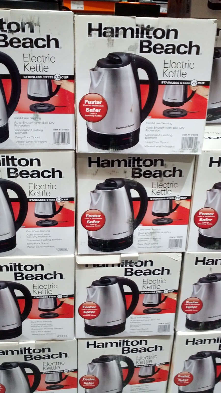 Hamilton Beach Stainless Steel Electric Kettle Model