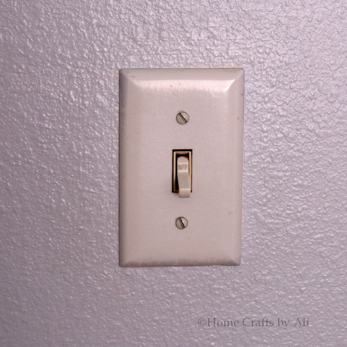 DIY Decorated Light Switch Cover