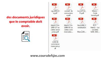 les documents juridiques que le comptable doit avoir