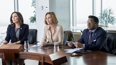 Long Shot 2019 movie still June Diane Raphael Charlize Theron Ravi Patel