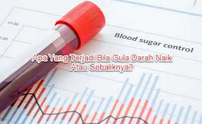 Apa Yang Terjadi Bila Gula Darah Naik Atau Sebaliknya?