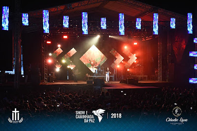 Show e Caminhada da Paz atrai grande público em Santo Antônio de Jesus