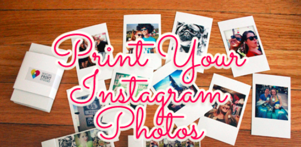 how to print instagram pictures at home - hewarati