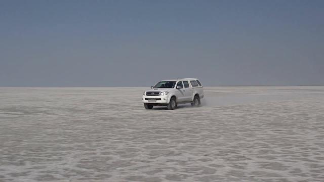 Makgadikgadi - Botswana off road