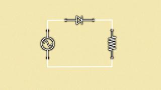 diodo rectificador,rectificador de corriente,circuits