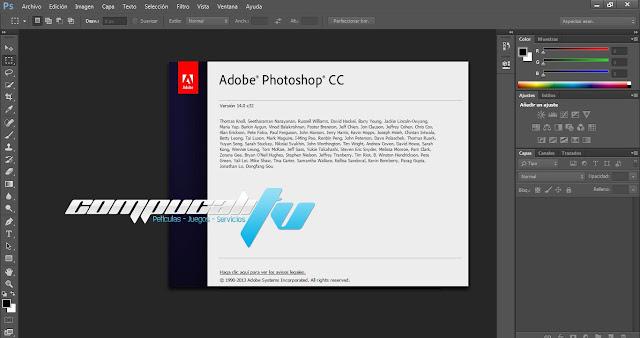 Adobe Photoshop CC 2015 Versión 16.0 Español