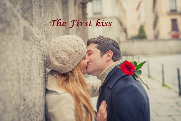 Hot kissing Valentine Day