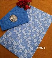 jual beli batik motif kembang bunga dengan embos