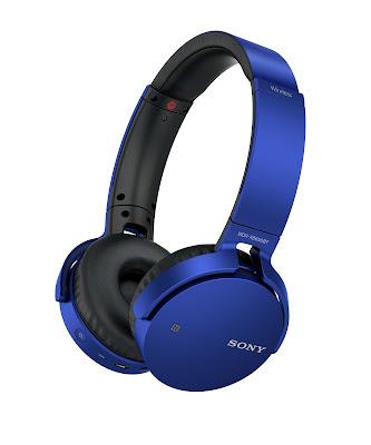 La clave son los graves: nuevos audífonos de Sony con EXTRA BASS