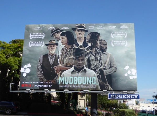 Mudbound film billboard