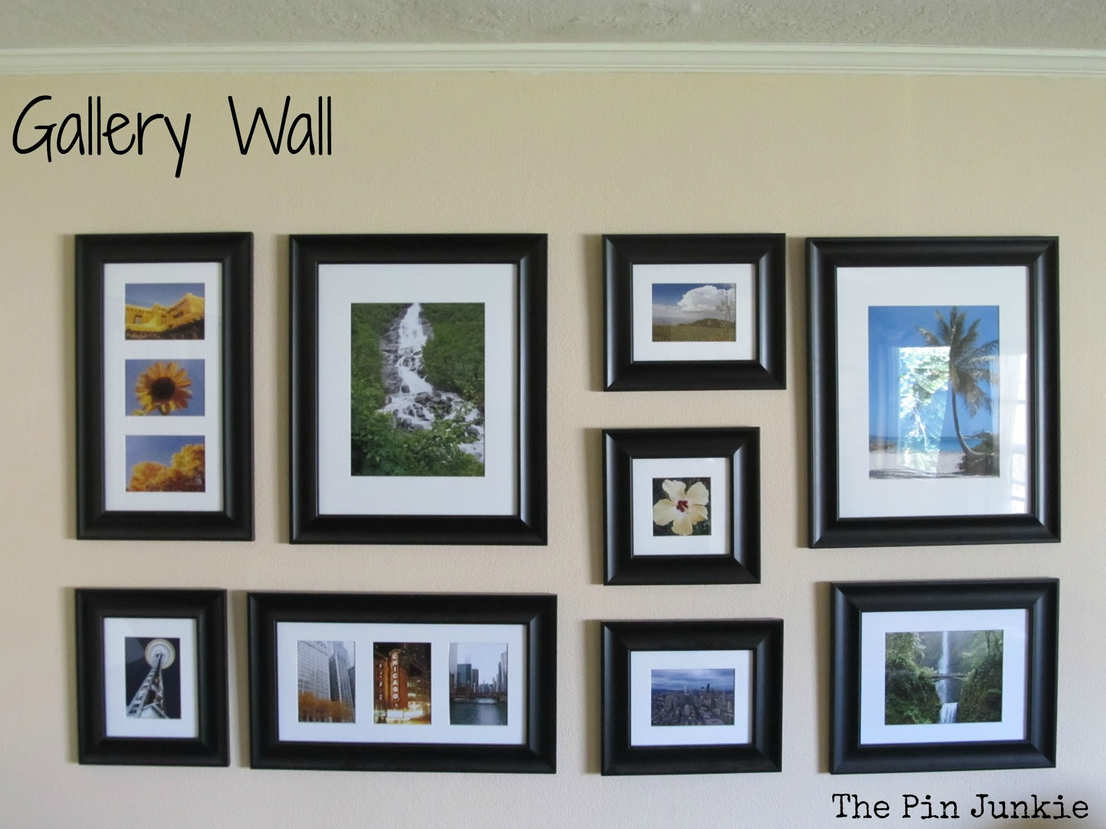 Wall photo gallery template new house designs gallery wall jpg maxwellsz