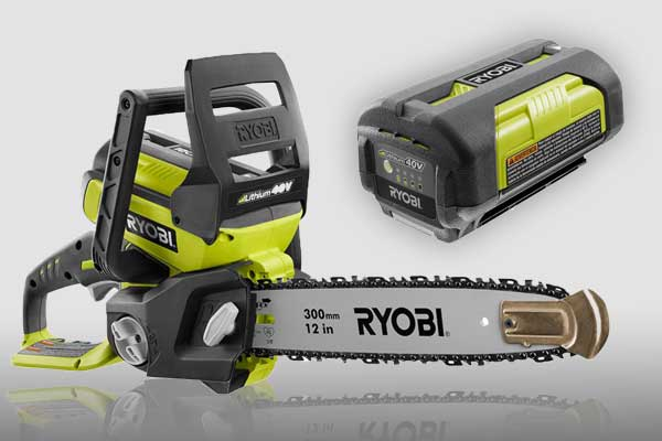 RYOBI 40 Volt Cordless Chainsaw Giveaway